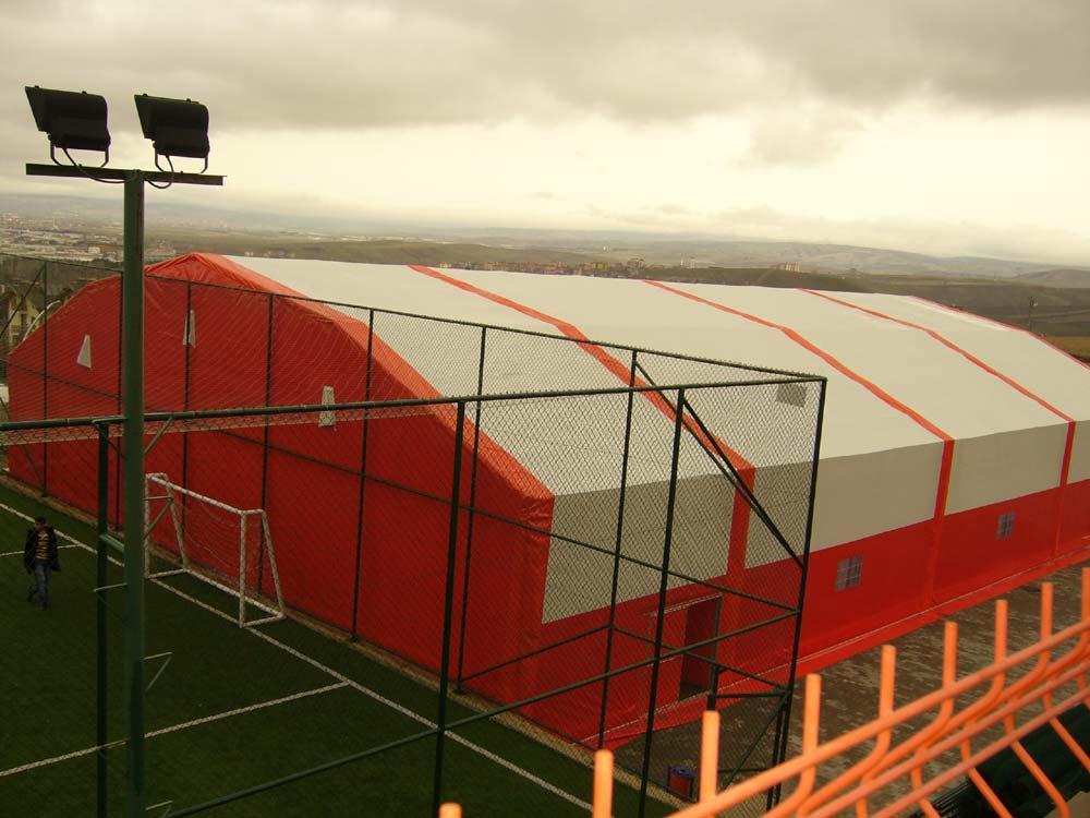 Tenis kortu basketbol sahası voleybol sahası gibi farklı spor